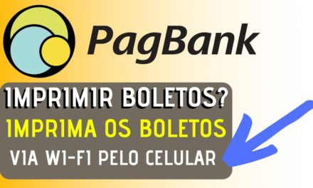 PagBank – Como IMPRIMIR boletos via WI-FI na IMPRESSORA Epson #PagSeguro