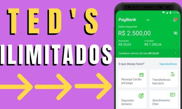 PagBank – TED ILIMITADO para qualquer banco – #PagSeguro , economia