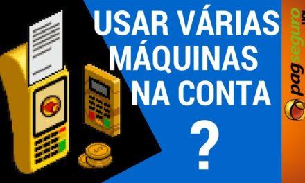 Pode usar VÁRIAS MÁQUINAS PagSeguro numa conta #PAGDICAS
