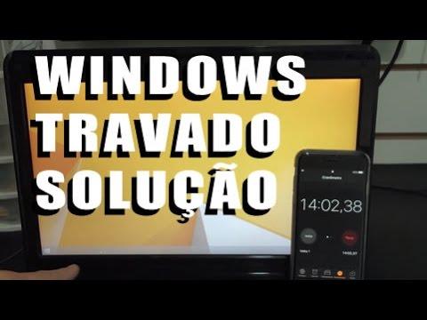 Extrema lentidão no Windows e Travando Diagnóstico e Solução