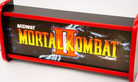 Build an Arcade Marquee Lightbox